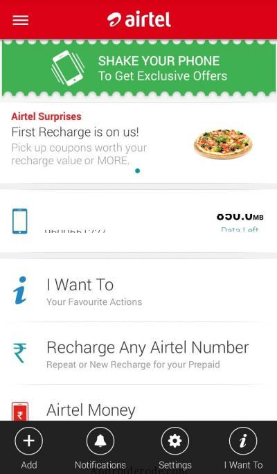 My Airtel App Get Full Talktime On Every Recharge