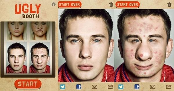 ugly Face para android