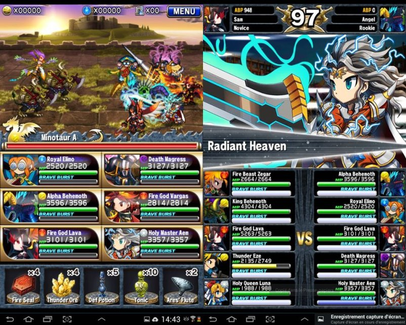 Brave Frontier para Android