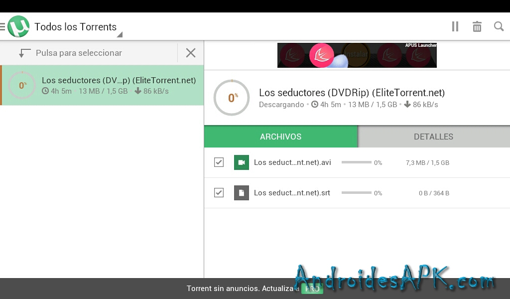 descargar por Utorrent