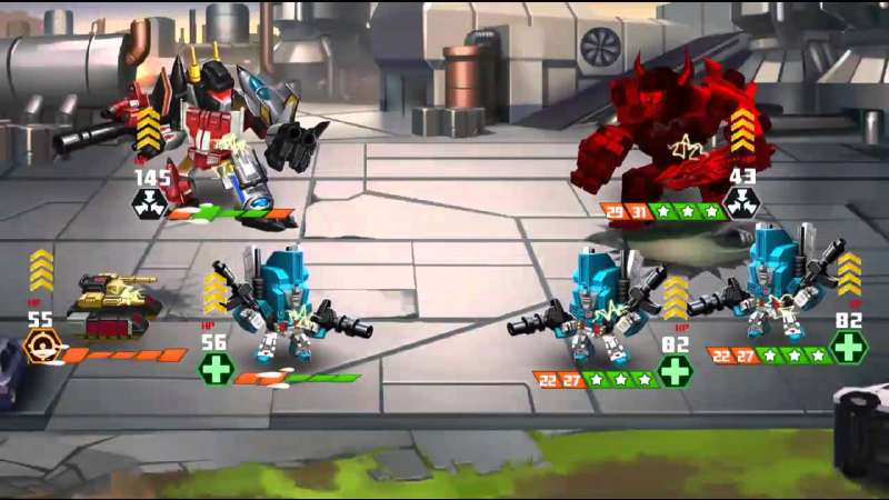 transformers battle tactics para android