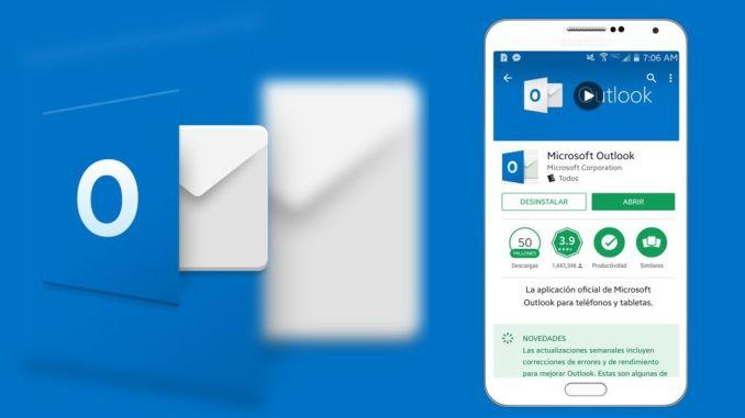 Microsoft Outlook para Android e iOS