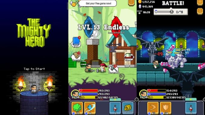 The Mighty Hero para Android