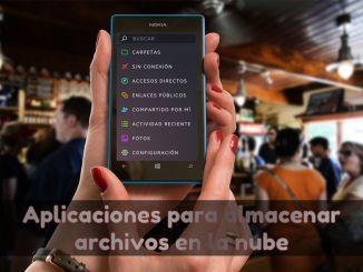 8 aplicaciones para almacenar archivos