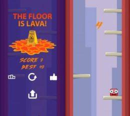 el piso es lava 1