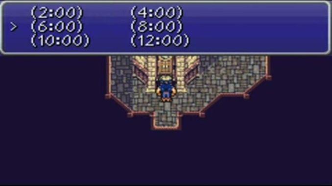 Reloj Zozo en final Fantasy VI