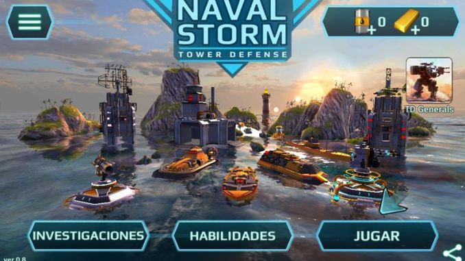 Naval Storm TD