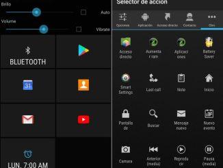 Agrega una barra de accesos directos en Android