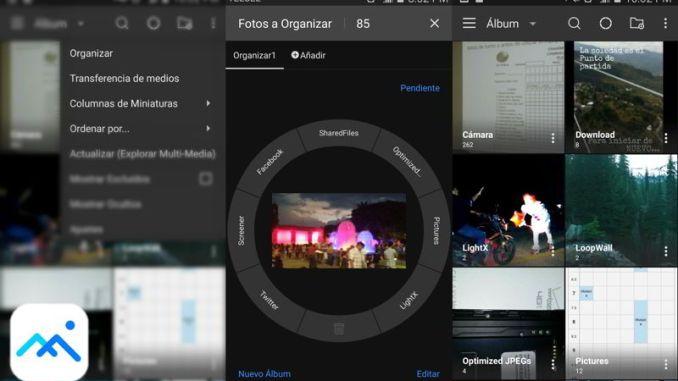 Gaeria de fotos, ideal para organizar