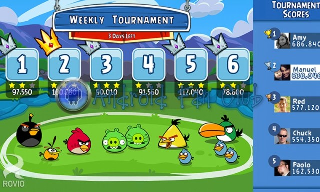 Angry Birds Friends for Android smartphones & tablets