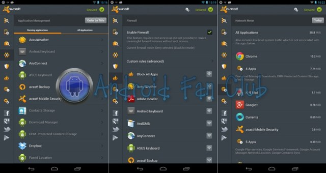 AVAST Mobile Security & Antivirus for Android smartphones & tablets