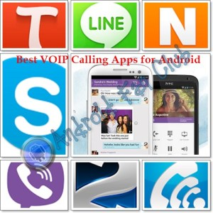 Best Voip and Free Voice Calling Apps for Android smartphones