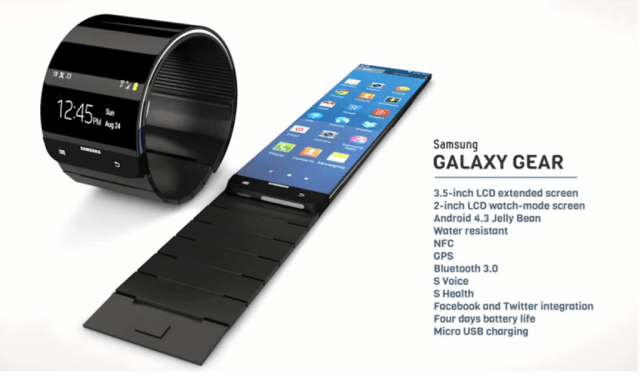Samsung Galaxy Gear - Android Smartwatch
