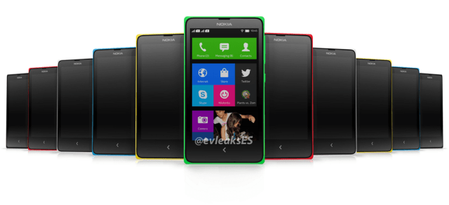 Nokia Normandy - Nokia X - A110 - Android Phone