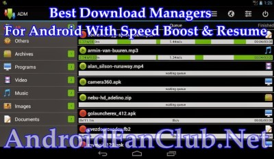 Top 5 Best Download Managers For Android With Speed Boost & Broken Downloads Resume Option