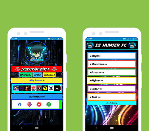 enter-password-of-ez-hunter-fc-app