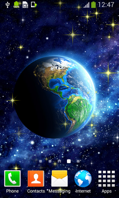 Space Live Wallpapers Best Android App - Free APK by Blue ...