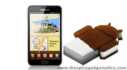 How To Update Galaxy Note GT-N7000 To ICS 4 0 3 Using Mobile