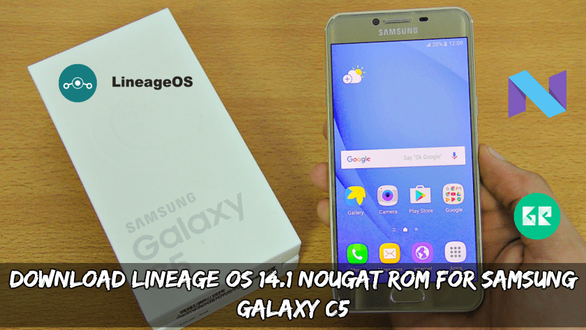 Download and Install Lineage OS On Galaxy C5