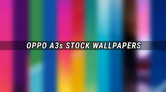 Download Oppo A3s Stock Wallpapers