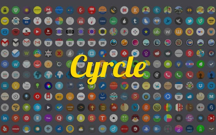 cyrcle - 10 Android icon packs you need to download now