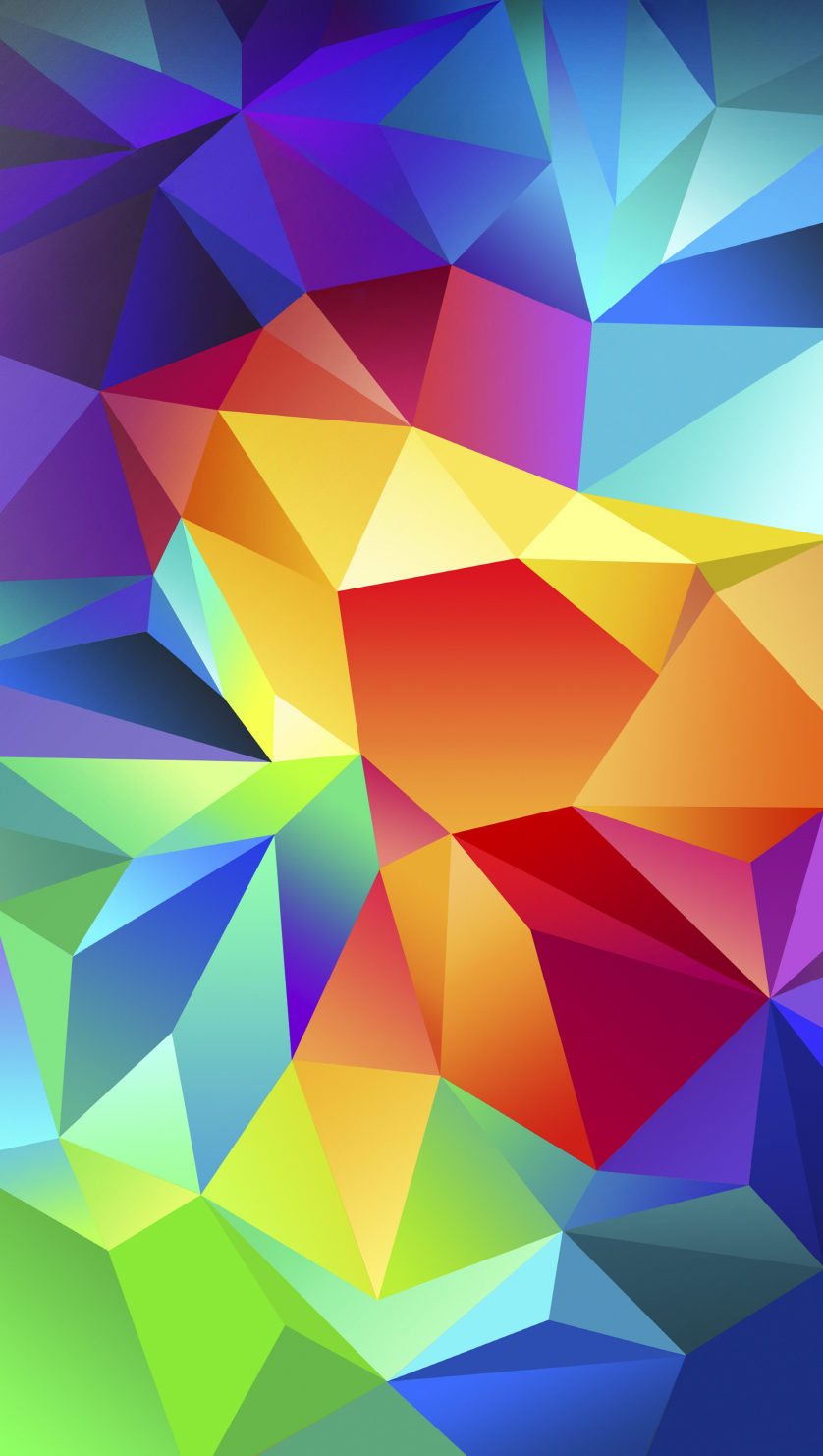 Get Confused with Android Kit Kat   Galaxy S5 Wallpapers for the iPhone Galaxy S5 multi colored shapes of whoknowswhat
