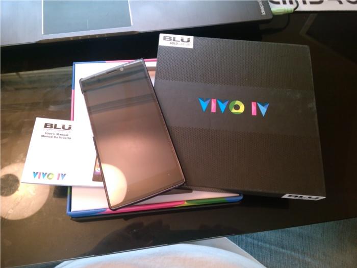 VIVO IV unboxed