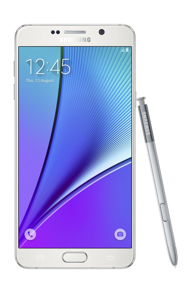 Galaxy-Note5_front-with-spen_White-Pearl