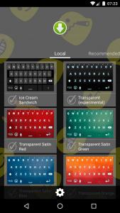 Smart Emoji Keyboard Main Screen