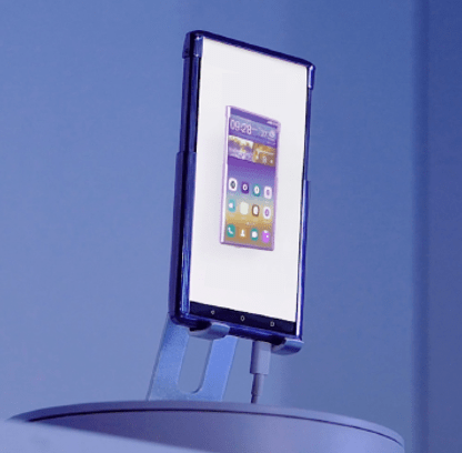 TCL CSOT CES 2021 Roll-Up AMOLED Display