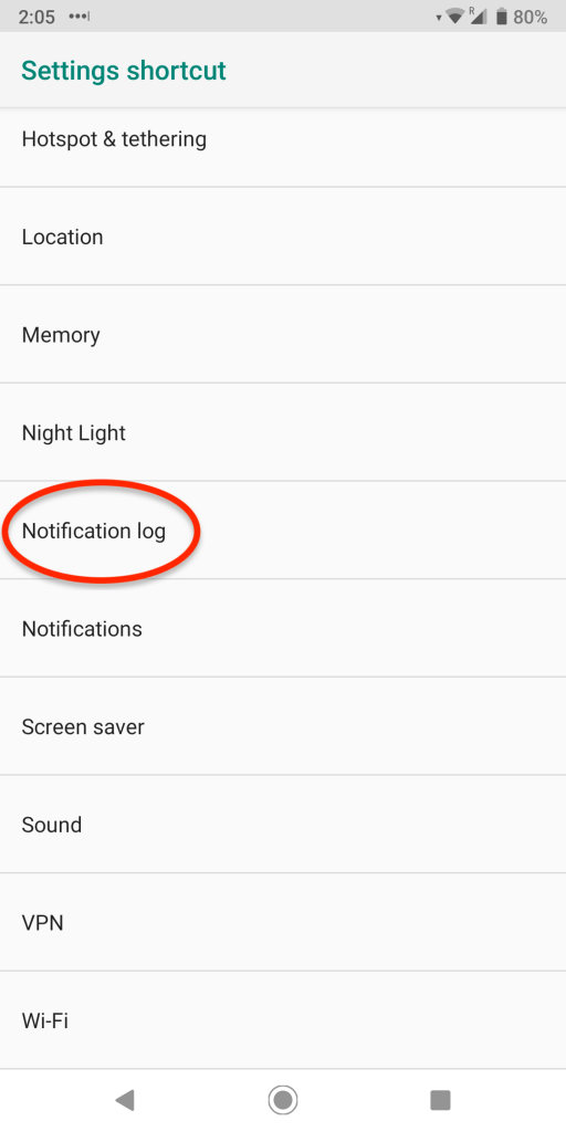 deleted notifications