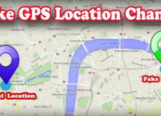 fake gps location