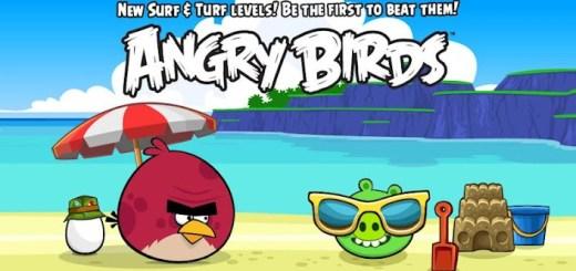 Angry Birds geupdatet naar versie 2.1