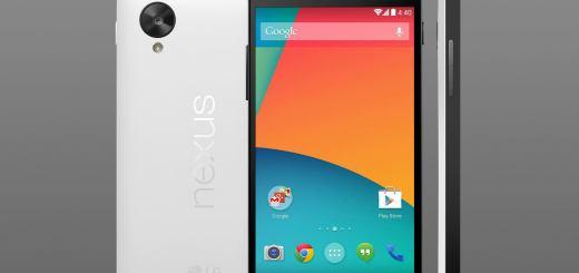 Nexus 5 zwart wit