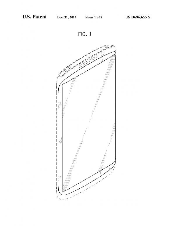Samsung-Ontwerp-Patent