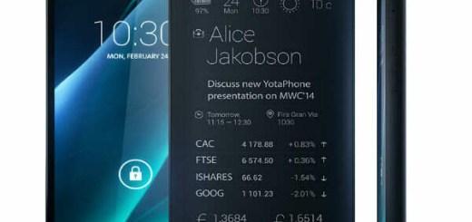YotaPhone e-ink