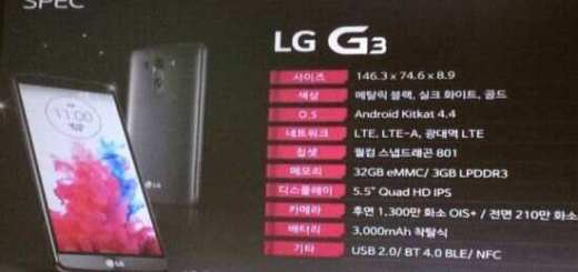 Presentatie LG G3