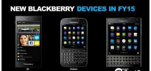 BlackBerry FY15