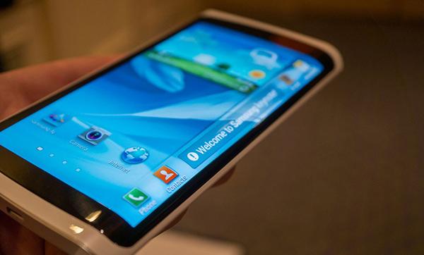 Samsung Galaxy Note 4 gebogen scherm