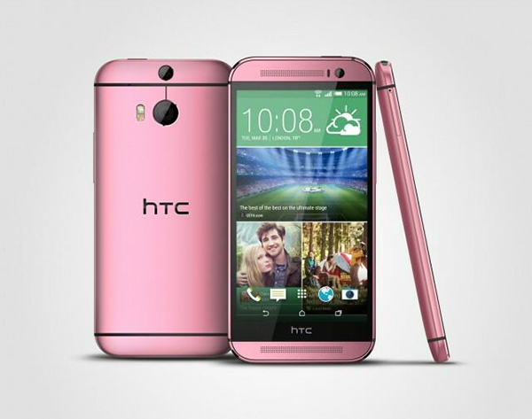 HTC One M8 roze