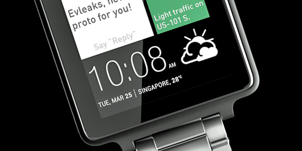 Is Dit De HTC Smartwatch?