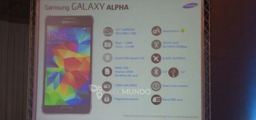 Samsung Galaxy Alpha Specificaties