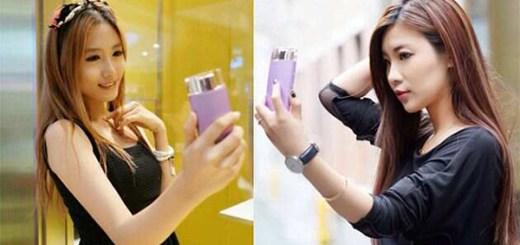 Sony Selfie smartphone parfum
