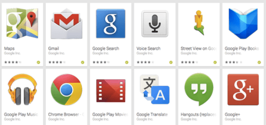 Android Google Apps