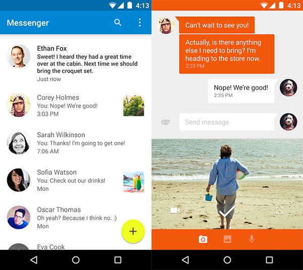 Messenger-Play-Store