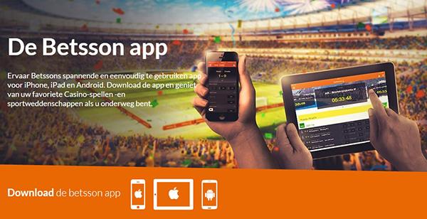 De Betsson App voor Android
