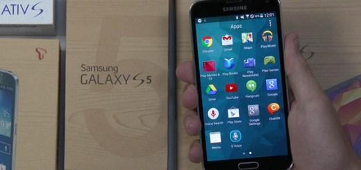 Samsung Galaxy S5 Lollipop