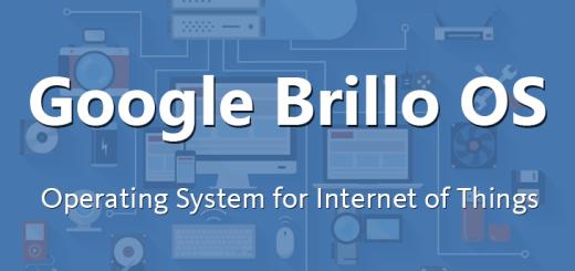 Google Brillo - Internet of Things