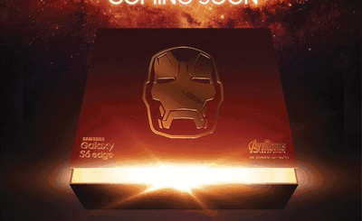 Samsung Galaxy S6 Edge Iron-Man teaser
