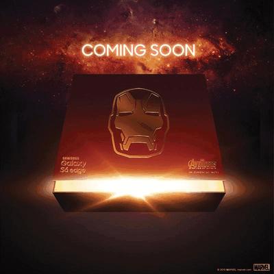Samsung Galaxy S6 Edge Iron-Man teaser